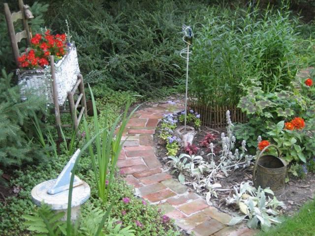Дорожки в саду