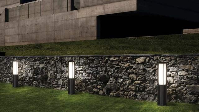 Светодиодные столбики для сада