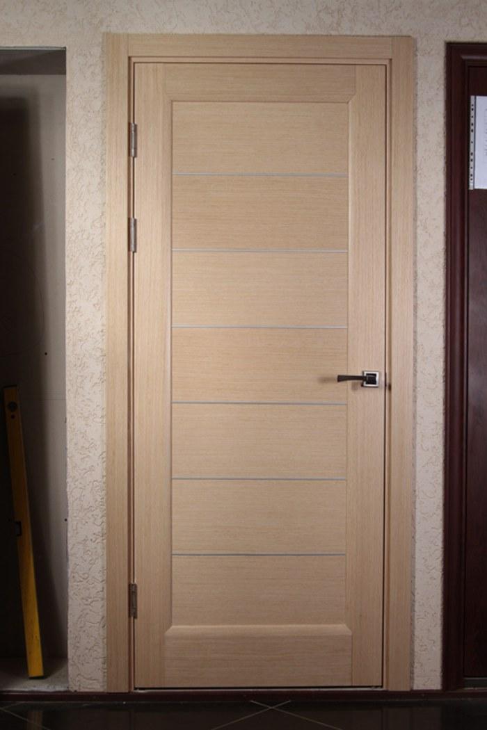 Установленная межкомнатная дверь своими руками