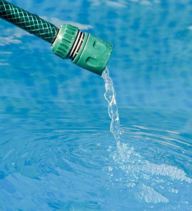Шланг для наполнения бассейна
