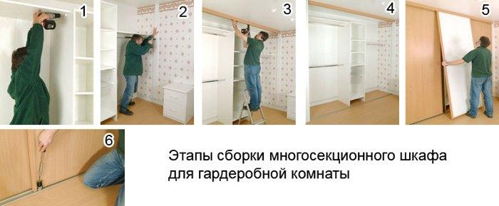 Как собрать гардеробную