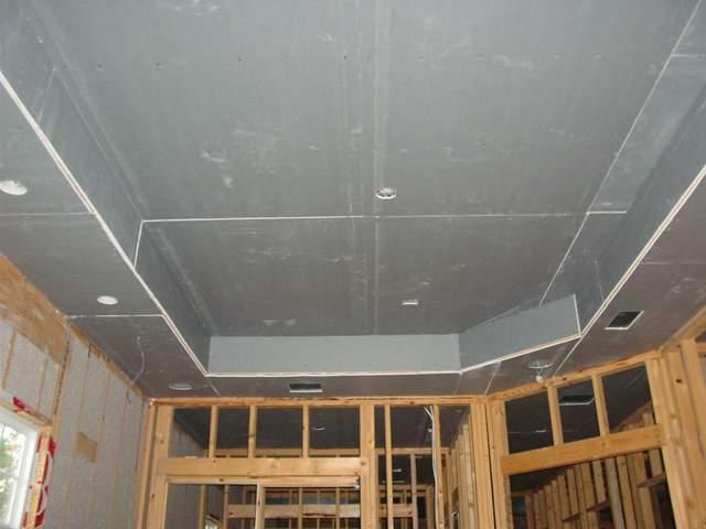 Двухуровневый потолок из ГКЛ