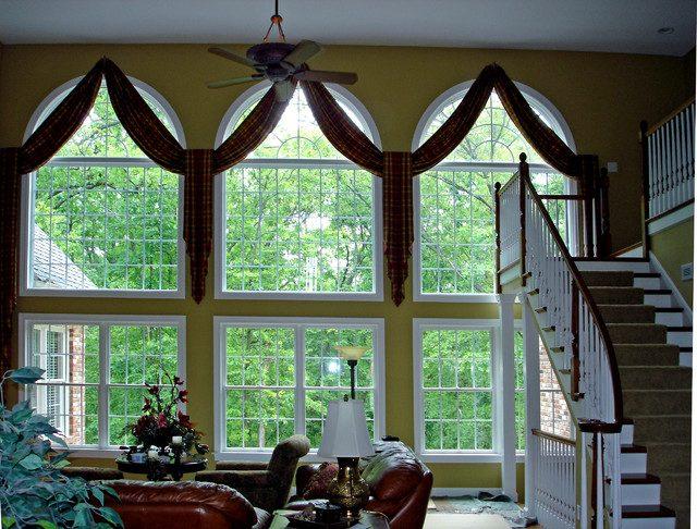 Форма арки для окна