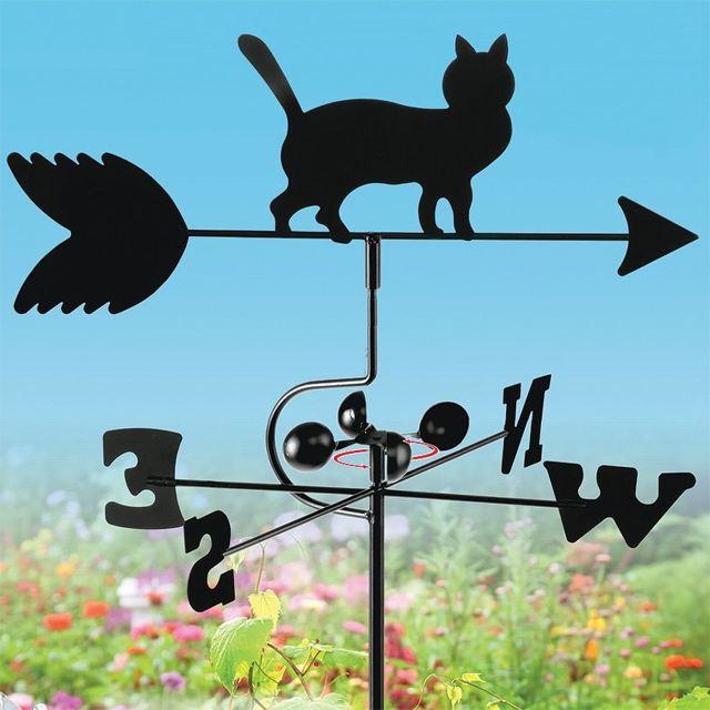 Флюгер в виде кошки