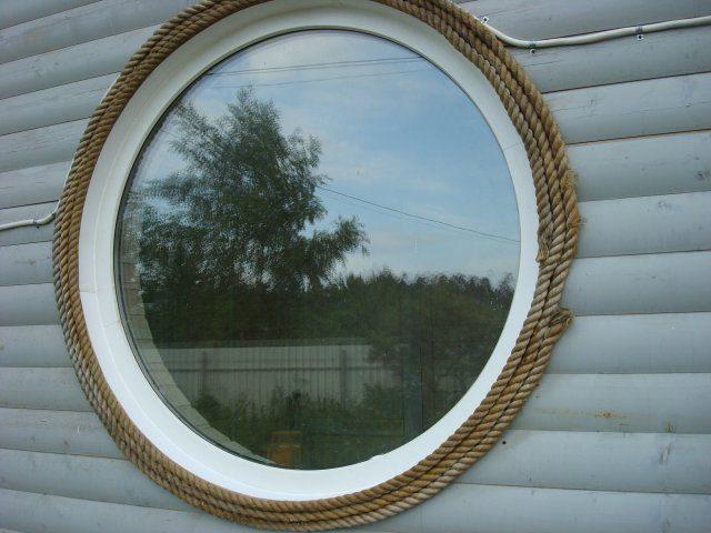 Форма окна круг