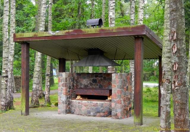 Крыша для кирпичного мангала