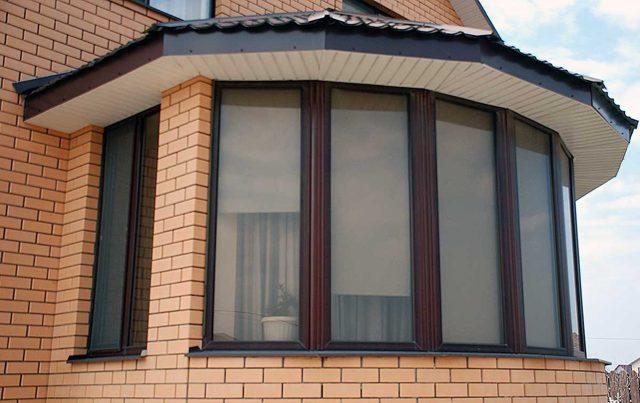 Эркер окна для дома