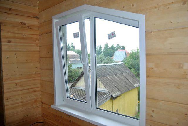 Форма окна в виде трапеции