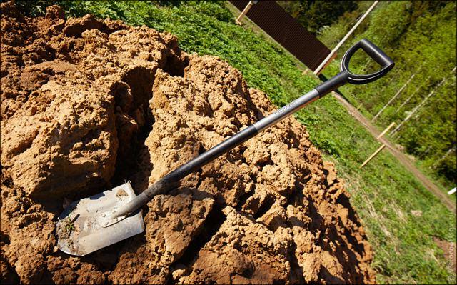 Лопата для дачи
