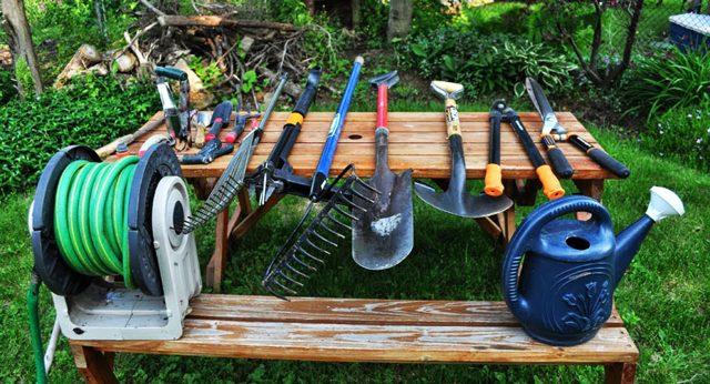 Садовые инструменты для дачи