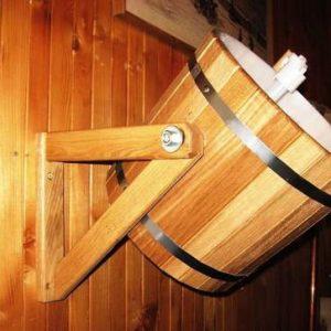Обливное устройство для сауны и бани