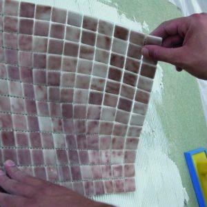 mozaika na setke