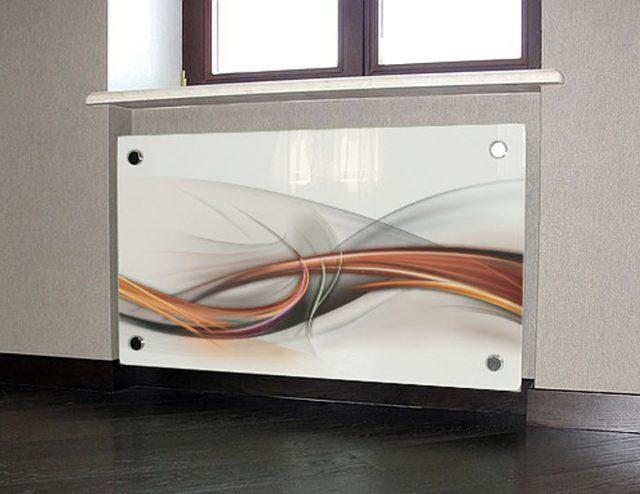 ekran radiatora iz stekla