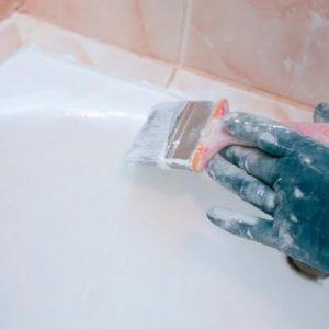 Как покрасить чугунную ванну