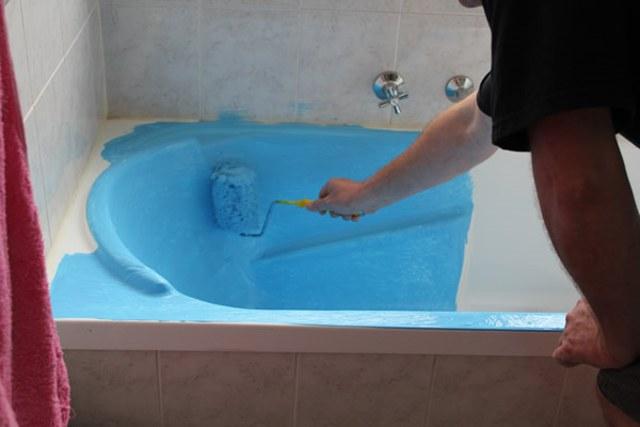 Восстановить эмаль на ванной своими руками