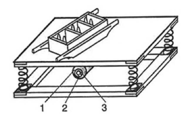 схема вибростола