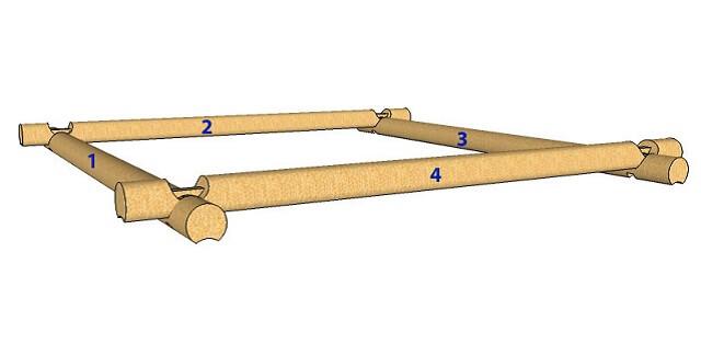 Двухуровневый нижний венец