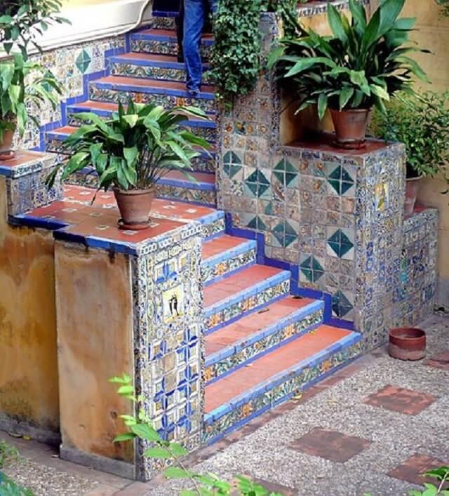 Декор из плитки