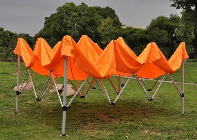 алюминиевый шатер