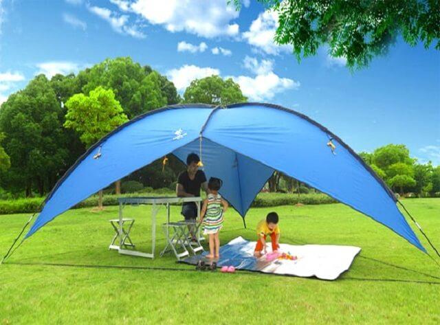 беседка шатер для дачи