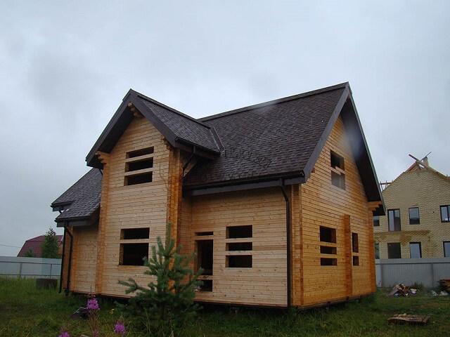 отделка домов из профилированного бруса