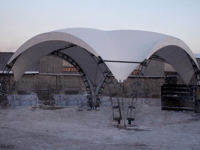 формы шатров