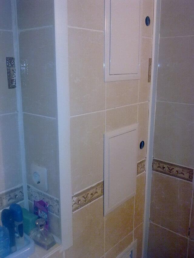Как спрятать трубы в туалете своими руками пластиковыми панелями - HubertHaas