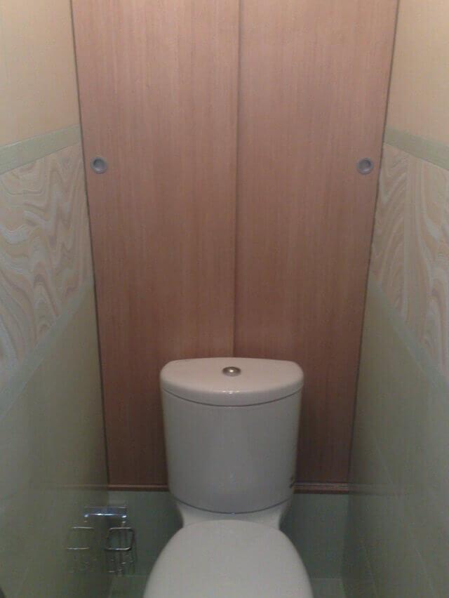 хоз шкафчик в туалете