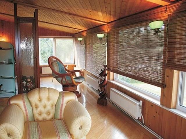 Бабмуковые шторы для веранд